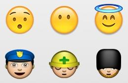 Emoji icons on the iPhone