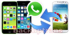 Transfer WhatsApp Chat History between iPhone and Android on Mac