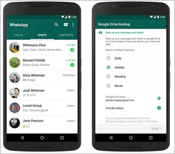 Restore WhatsApp Backup from Google Drive to Android/iPhone
