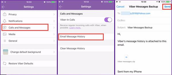 Restore Viber Messages on iPhone for Free