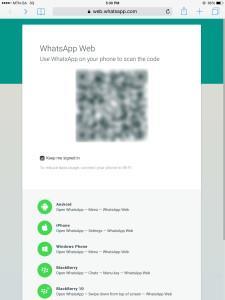 WhatsApp web2