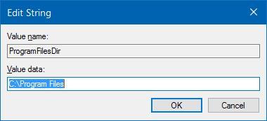 change default installation directory Windows 10 pic3