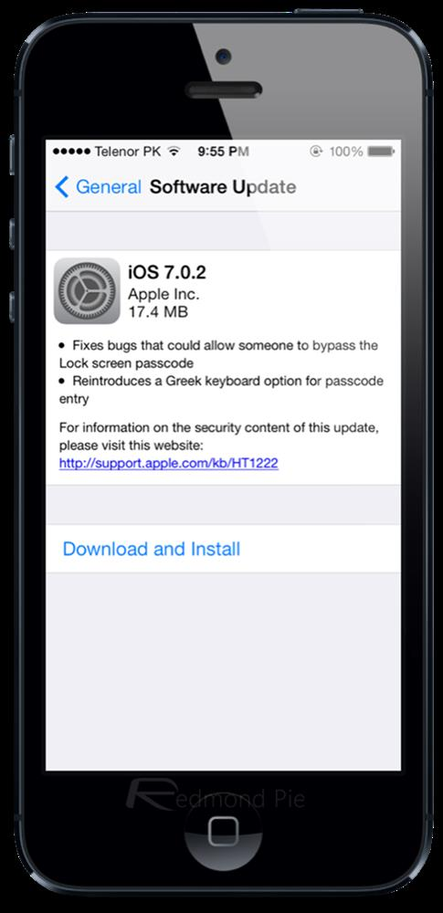 iOS 7.0.2