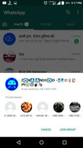 Join any whatsapp group