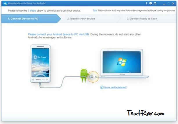 retrieve deleted text messages android