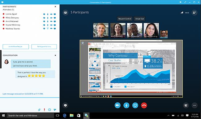 skype for business platform