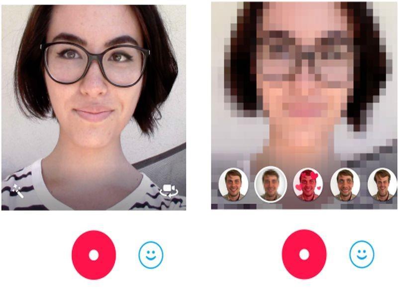 Skype Qik Effects