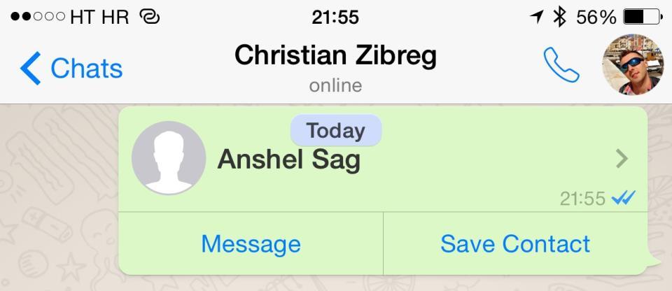WhatsApp 2.12.5 for iOS iPhone screenshot 008