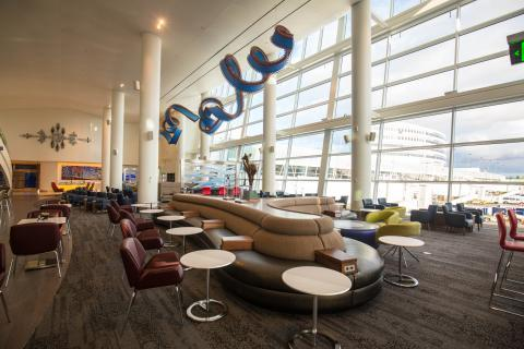 Delta Sky Club Seattle