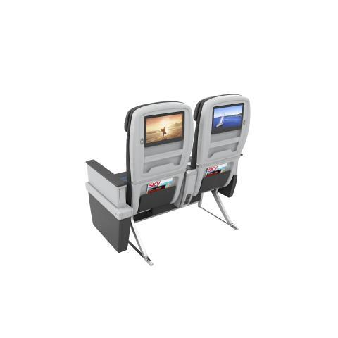 Seat-back entertainment screens