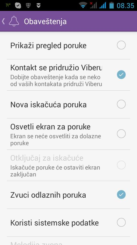 "It's in Serbian but it ""translates"" as - All notifications disabled"