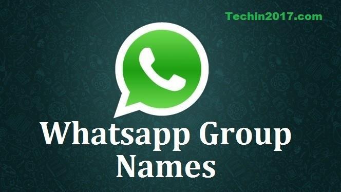 get the whatsapp group name ideas - whatsapp group names list 2017
