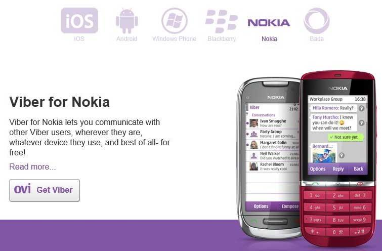 viber for nokia asha 311