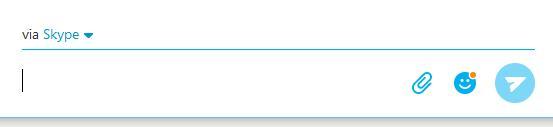 Skyp Media Toolbar Collapsed