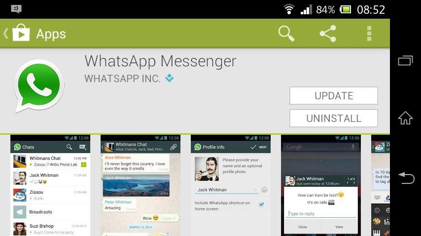 Whatsapp-install