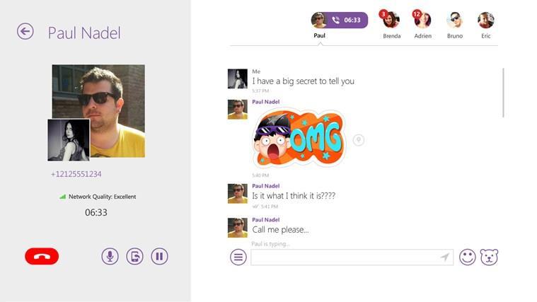 Viber Call Windows 8