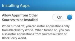 Allow Apps from Other Sources