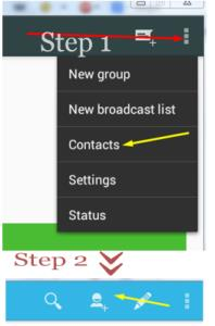 Whatsapp free contacts add