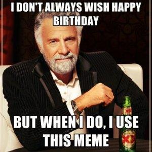 Happy Birthday 2016 meme