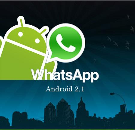 WhatsApp for Android 2.1