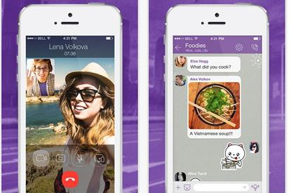 Viber 5 iPhone video calling