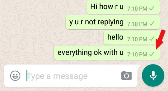 whatsapp no reply
