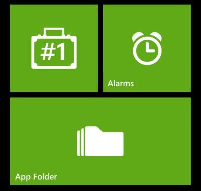 windows phone apps corner mode