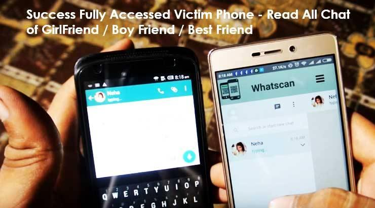 how to hack someones whatsapp without them knowing