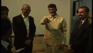 Microsoft CEO Satya Nadella meets Chandrababu Naidu today