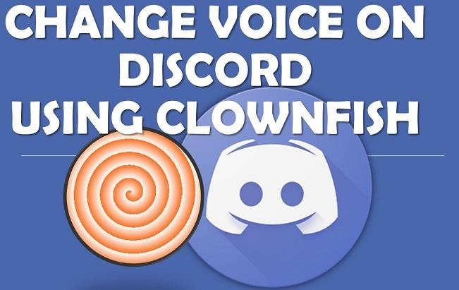 Download Clownfish voice changer on discord