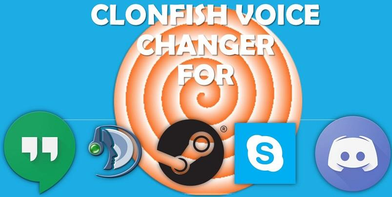 Clownfish Voice Changer for Discord, Skype, TeamSpeak, etc