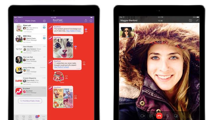 Viber 5.4.1 for iOS iPad screenshot 001