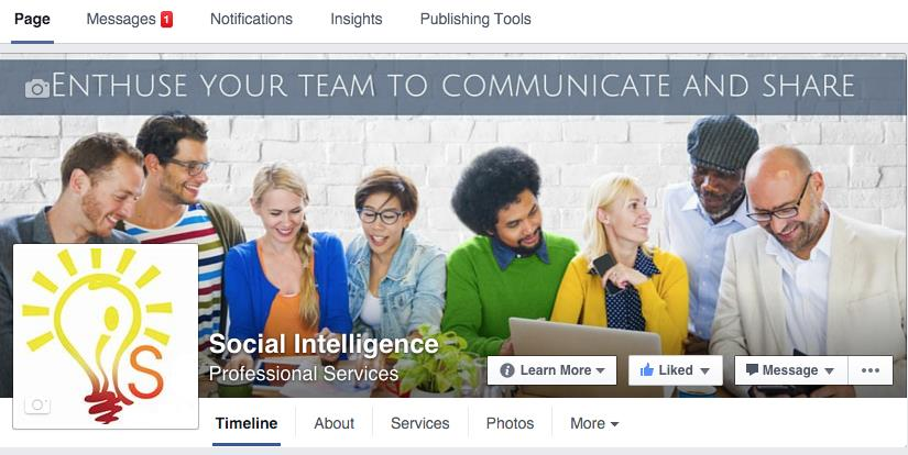 Social Intelligence Facebook Page