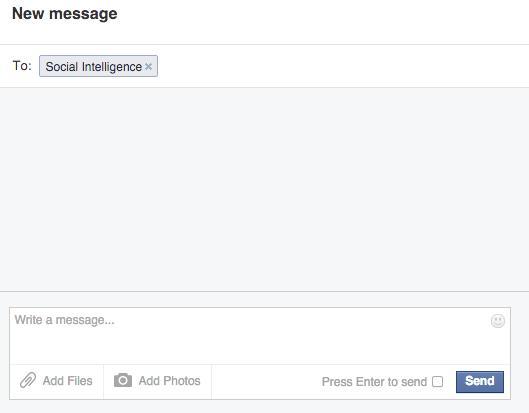 Facebook Messenger through Desktop