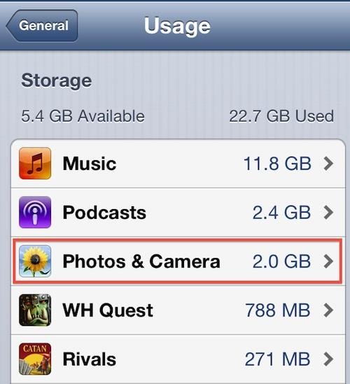How to delete images from iPhone 4