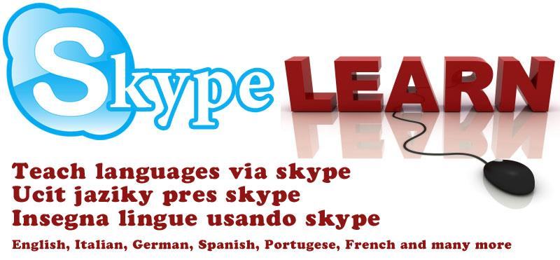 teach languages using skype